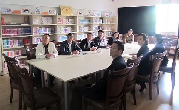 南京市民政局,鼓楼区民政局到访南京学校